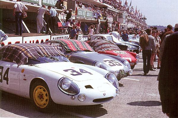Alfa-Romeo SZ - 24 heures du Mans 1961
