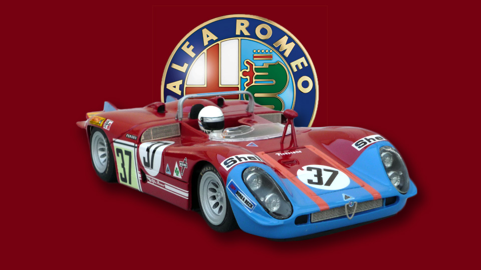 24 heures du Mans 1970 - Alfa-Roméo T33/3 #37- Racer