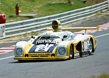 24 heures du Mans 1978 - Alpine Renault A442-B Pilotes : Didier Pironi / Jean-Pierre Jaussaud - 1er