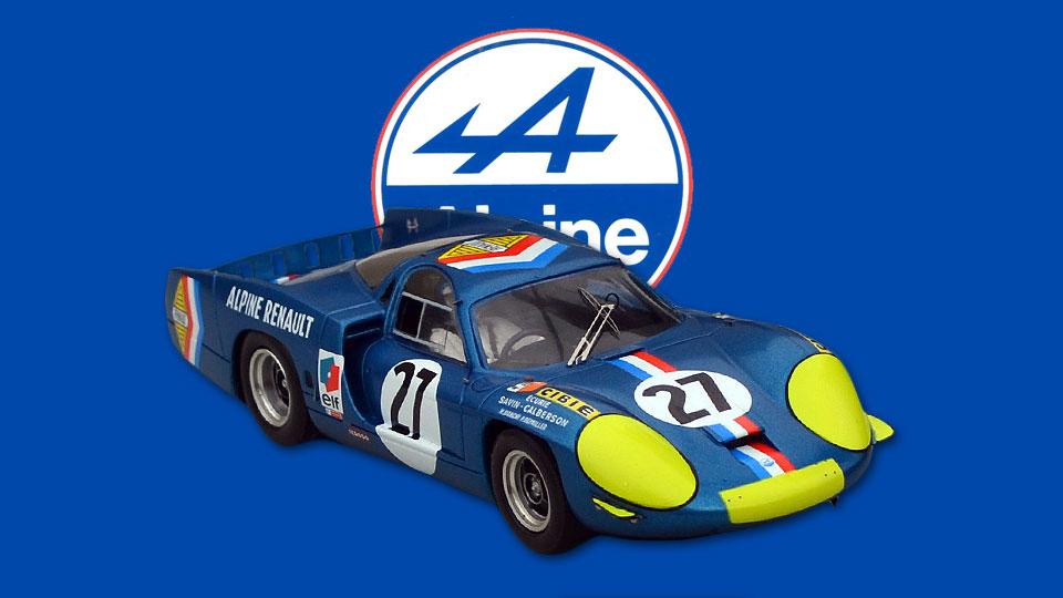 24 heures du Mans 1968 - Alpine A220 #27 - Le Mans Miniatures