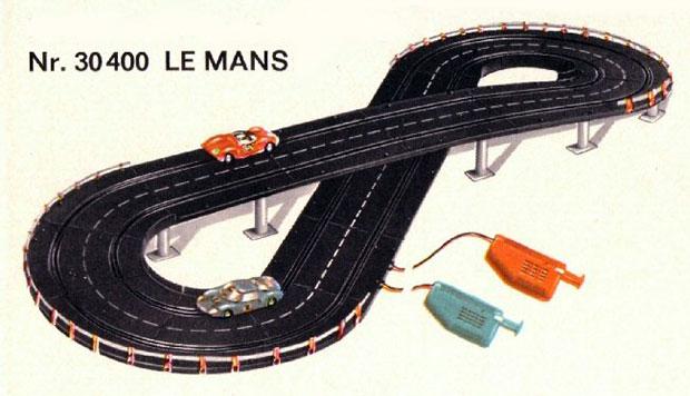 Le coffret 30400 Carrera Le Mans en 1968