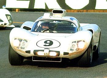 24 heures du Mans 1966 - Chaparral 2D Pilotes : Phil Hill / Jo Bonnier - Abandon