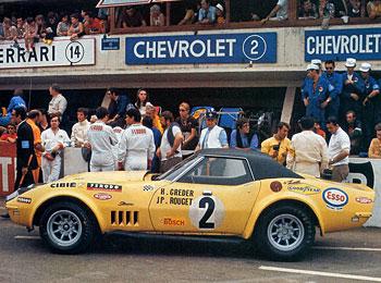 Chevrolet Corvette Le Mans 1970