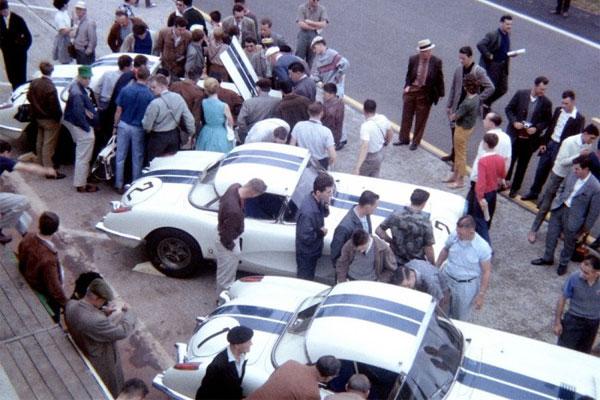 Les Chevrolet Corvette Cunningham des 24 heures du Mans 1960
