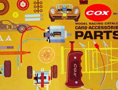 Catalogue Cox Slot Racing 1967