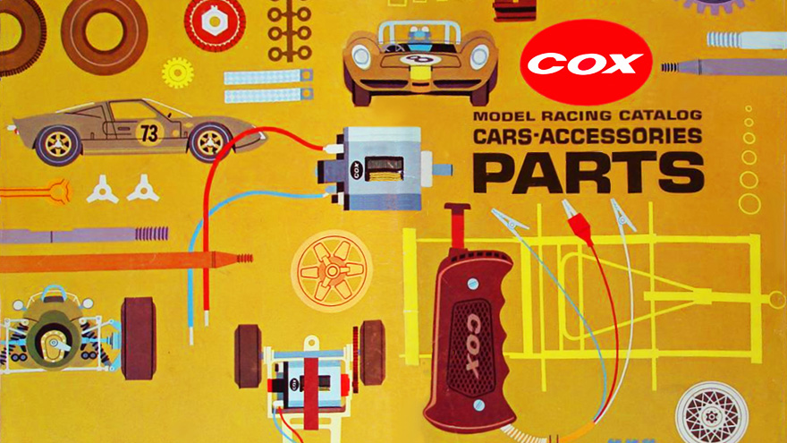 Catalogue Cox Slot Racing 1967