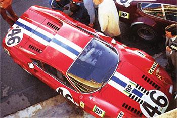 Dino-246-GT - Le Mans 1972