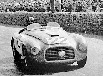 24 heures du Mans 1949 - Ferrari 166 MM Pilotes : Luigi Chinetti / Lord Selsdon - 1er