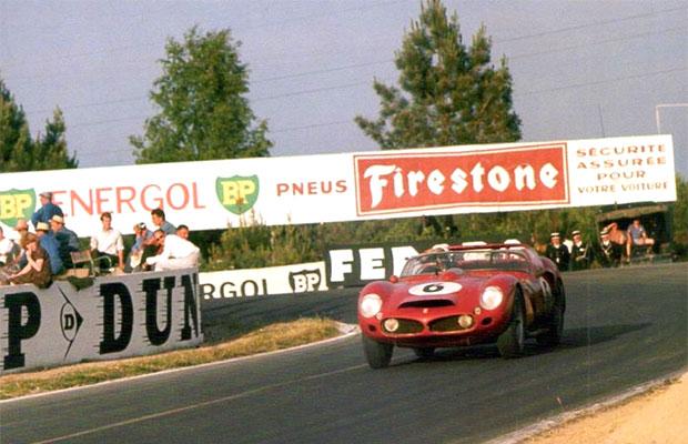24 heures du Mans 1962 - Ferrari 330 TR - Pilotes : Olivier Gendebien / Phil Hill - 1er