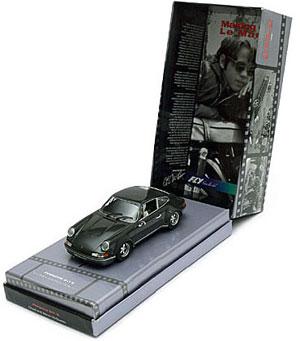 Le coffret Fly 99114 de la Porsche 911 de Steve McQueen qu'il utilisa lors du tournage du film le Mans en 1970