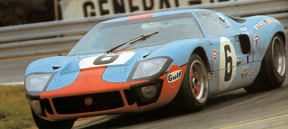 24 heures du Mans 1969 – Ford GT 40 - Pilotes : Jacky Ickx / Jackie Oliver – 1er