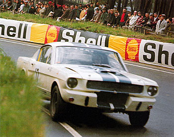 24 heures du Mans 1967 – Ford Mustang Shelby GT 350 - Pilotes : Chris Tuerlinckx / Claude Dubois – Abandon