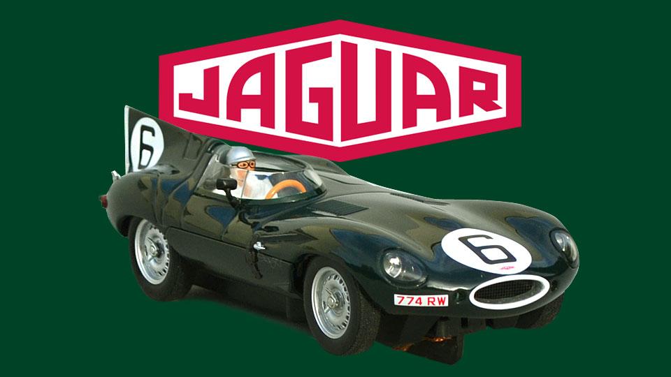 24 heures du Mans 1955 - Jaguar type D #6 - AutoArt