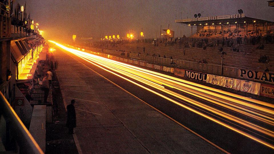 La nuit des 24 heures du Mans 1960