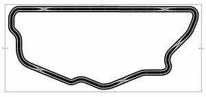 Scalextric Digital 2 pistes 2,20m x 4,80m