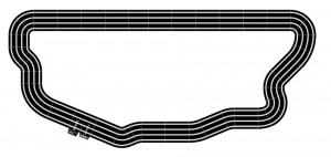 Scalextric Sport 4 pistes 2,30m x 4,70m
