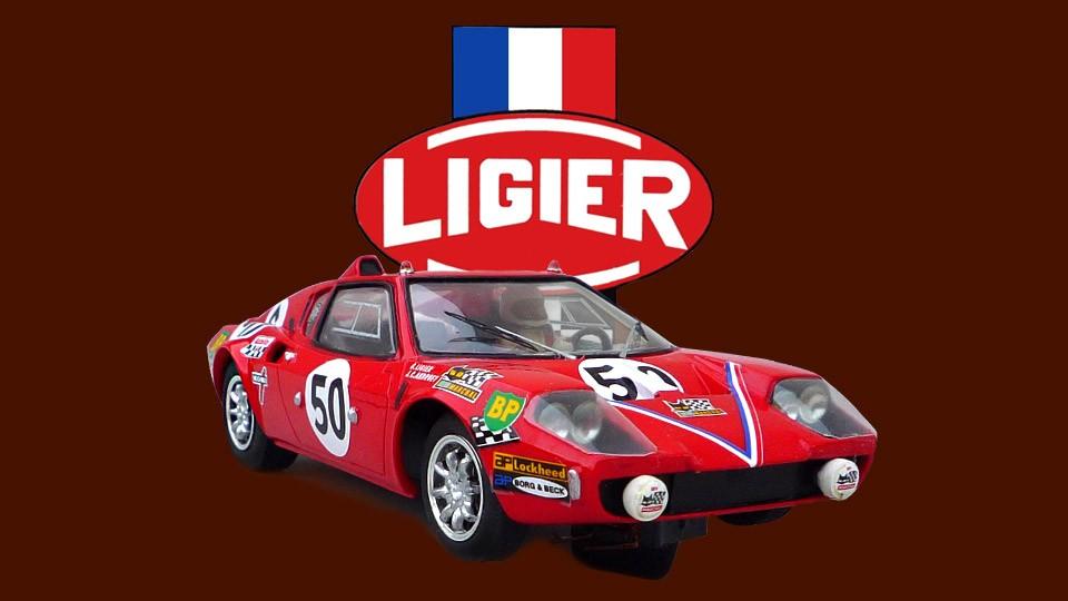 24 heures du Mans 1970 - Ligier JS1#50 - Proto Slot Kit