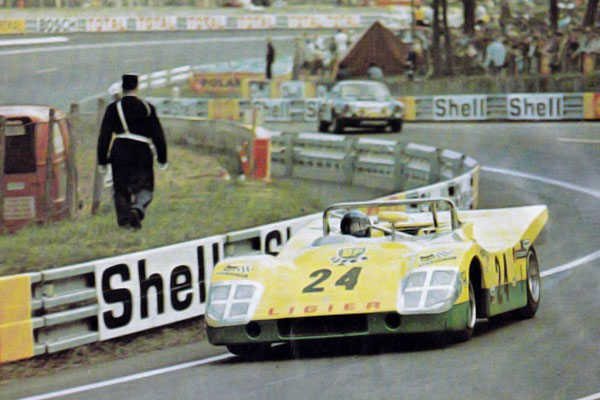 Ligier JS3 - 24 heures du Mans 1971