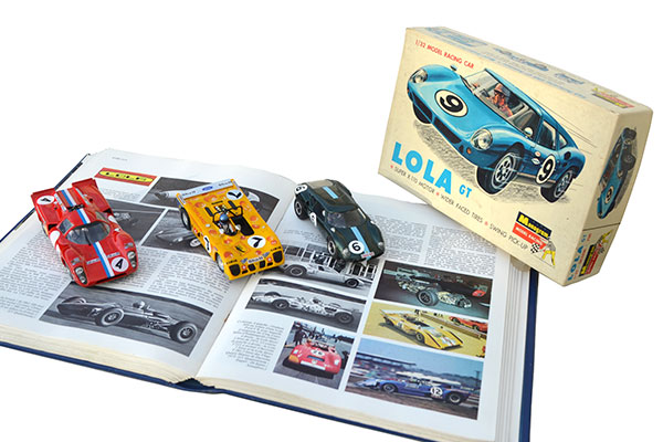 Lola T70 Fly, Lola T280 Sloter, Lola Mk6 GT Monogram