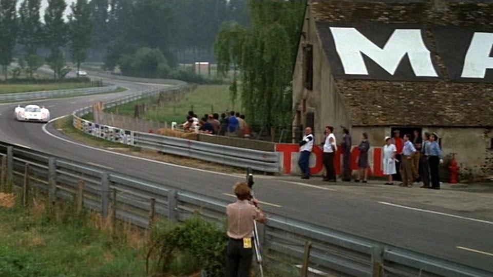 Le circuit des 24 heures du Mans - Maison-Blanche en 1970