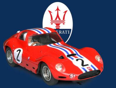 24 heures du Mans 1963 - Maserati tipo 151 #2 - MMK