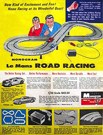 Monogram le Mans Road Racing