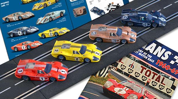 Les quatre Ford MkIV des 24 heures du Mans 1967 par NSR