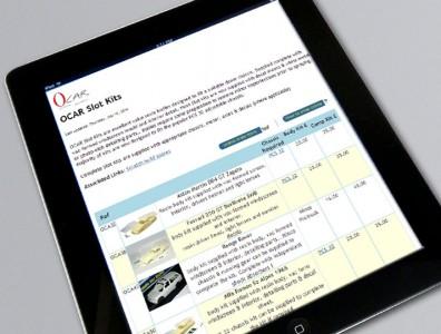 Catalogue en ligne Ocar
