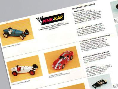 Catalogue Pink-Kar 1993
