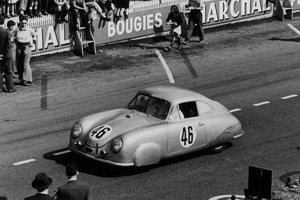 La première Porsche aux 24 heures du Mans 1951