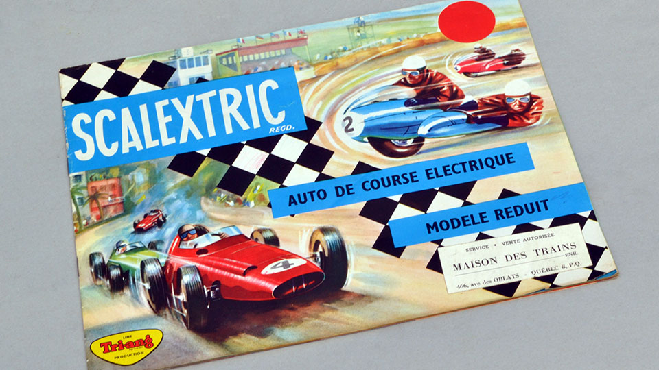 Catalogue Scalextric 4ème édition 1963