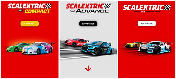 La gamme Scalextric Espagne 2021