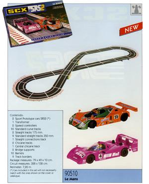 Set SRS2 SCX Le Mans