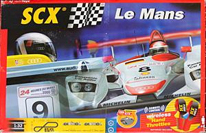 Coffret SCX Le Mans