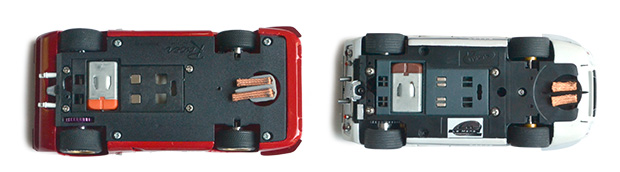 Ferrari 312P Racer et Ford GT40 MkII Le Mans Miniatures équipées de mécaniques Slot.it