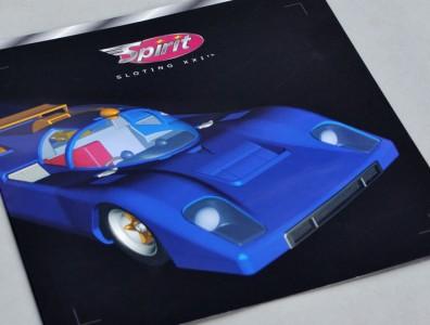 La couverture du premier catalogue Spirit