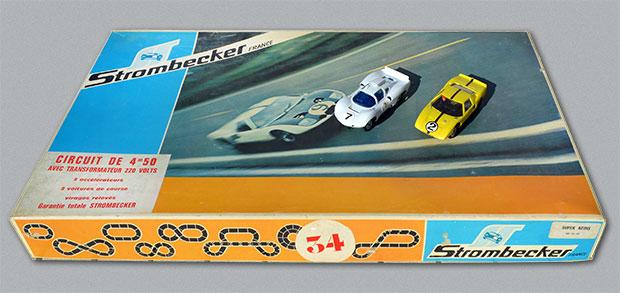 Circuit Strombecker - Ford et Chaparral Le Mans 1966