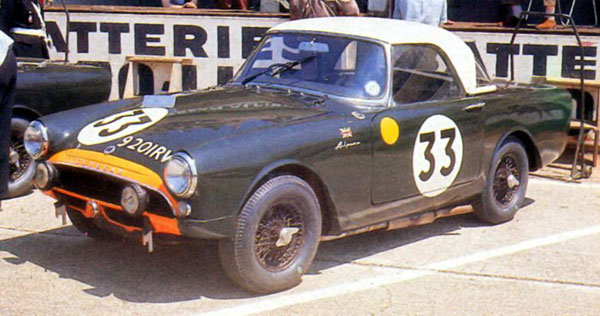 Sunbeam Alpine - 24 heures du Mans 1963