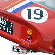 Ferrari 250 GTO - Fly A1803 - Détails du panneau arrière