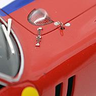 Ferrari 250 GTO - Fly A1803 - Détails des accessoires