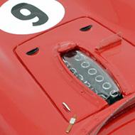 Ferrari 330TRI/LM MMK - Détails du capot avant