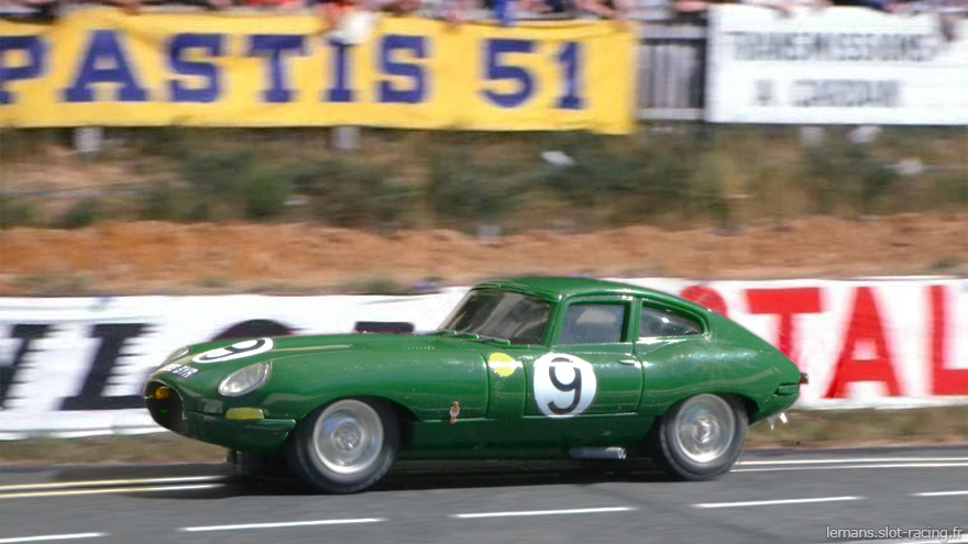24 heures du Mans 1962 - Jaguar E lightweight #9 - Peter Lumsden / Peter Sargent - 5ème