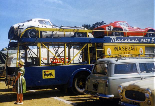 Maserati 24 heures du Mans 1962