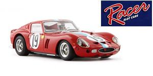 Ferrari 250GTO n°19 Racer Le Mans 1962
