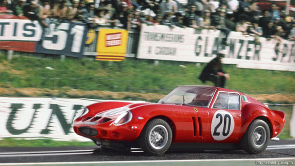 Le Mans 1963 - Ferrari 250P #20 - Pilotes : Fernand Tavano / Carlo Maria Abate - Abandon