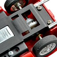 Ferrari 250P - Super Shells S34 - Le moteur et la transmission