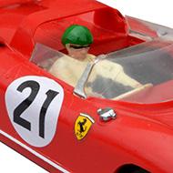 Ferrari 250P - Super Shells S34  - Détails du pilote