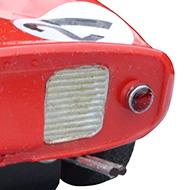 Ferrari 250P - Super Shells S34 - Détails de la face arrière