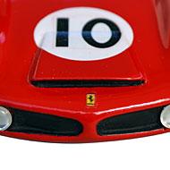 Ferrari 330TR AABodies - Détail de l'avant