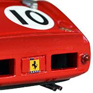 Ferrari 330TR AABodies - Détail de la face arrière